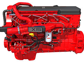 Cummins X15 Truck Engine 3D model