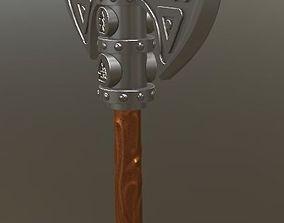 Brutal Nordic Axe 3D