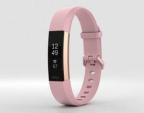 Fitbit Alta HR Soft Pink 3D model