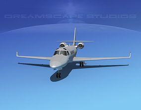 IAI Astra Jet Bare Metal 3D