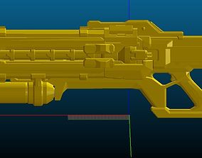 3D printable model Soldier 76 Pulse Rifle