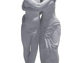 3D model Kissing Sculpture