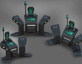 Command-console 3D model