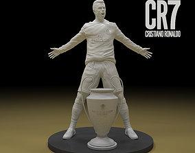 uefa CR7 Christiano Ronaldo 3d model