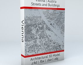 3D model Vienna Streets and Buildings