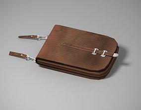 3D asset Document bag of an officer 1940-1941