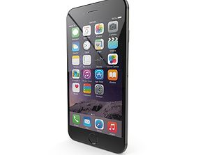 3D model Apple iPhone 6 Space Gray
