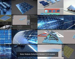 3D Solar Module Collection Version 1