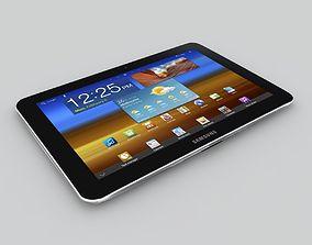3D model Samsung Galaxy Tab 8 9 4G P7320T