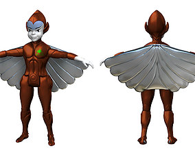 Silverhawks the copper kid toy classic 3D print model