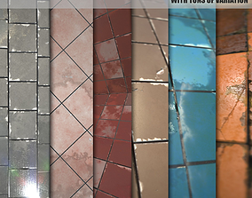 Substance textures 2-Pack 3D model
