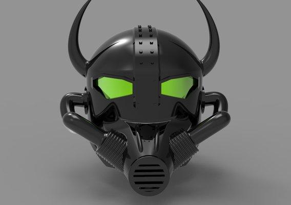 Sci Fi Helmet Concept