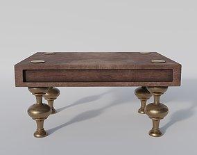 3D model Roman Footstool