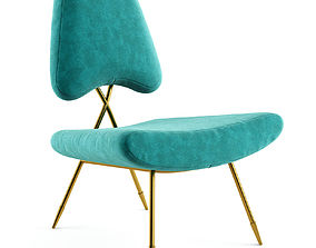 Maxime Lounge Chair 3D model
