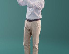 3D asset Carlos 10188 - Standing Business Man