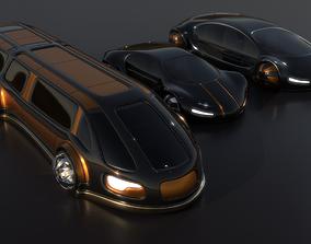 3D model Future Cars 202
