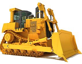 digger Bulldozer 3D model