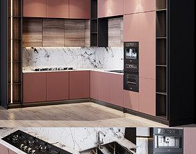 3D model kitchen modern 3