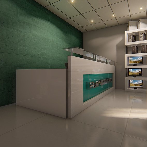 Design of a computer store and accessories