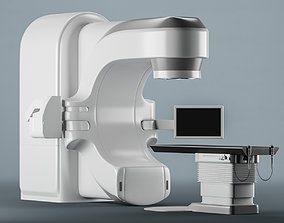 low-poly Varian Radiotherapy 3D model