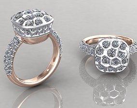 Nudo Classic Ring 3D print model