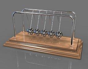 3D model Newton Cradle - Pendulum