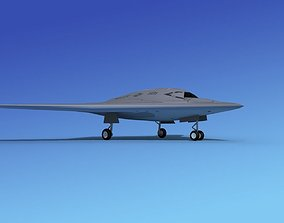 X-47B UCAS 1 3D model
