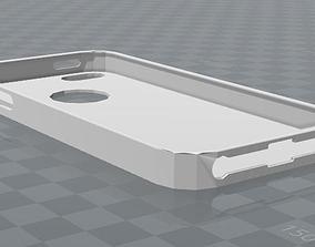 3D printable model iPhone 5 case simple design