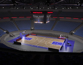 3D model Basketball stadium