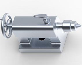 3D print model Lathe Machine - TailStock