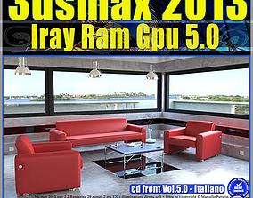 3ds max 2013 Iray Ram Gpu Italiano cd front Vol 5