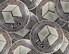3D NEO coin