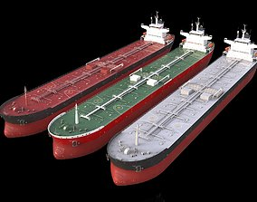 3D model collection PANAMAX tanker 245m