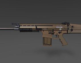 3D asset FN SCAR-H