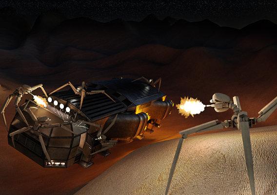 Gunbots Attacking