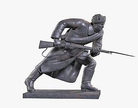 Infantryman Sculpture 3D