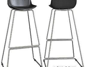 Bar stool Neo low poly 3d model realtime