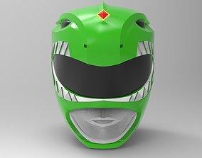Green Ranger Helmet from MMPR for 3D printing