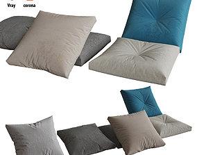 Pillows set 06 3D