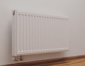 3D model heater Radiator