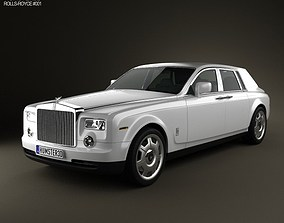 Rolls-Royce Phantom 2011 3D model
