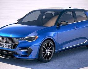 3D Generic Hatchback 2019 v2