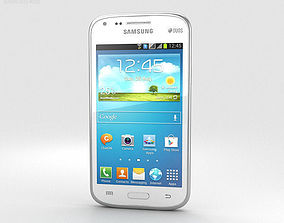 3D model Samsung Galaxy Core Chic White