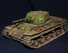 3D printable model KV 1 Tanks