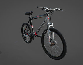 3D model low-poly Bicycle gear