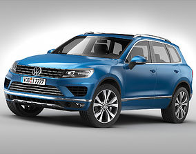 3D Volkswagen Touareg 2015