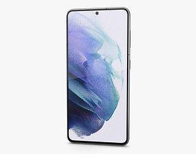 Samsung Galaxy S21 5G Phantom White 3D model