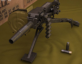 3D russian AGS-17