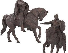 3D model Dolgorukiy Monument