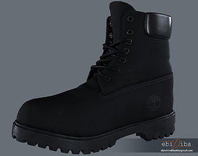 3D model 6 Inch Boot fine topology